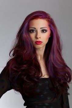 Pinks & purples & plums oh my! Beautiful long mermaid hair with pink highlights, purple highlights, and red plum color. From our Spring Candy Collection! Hair by Robin, makeup by Chrissi. #salonheadcandy #mua #makeup #nofilter #njhair #bumbleandbumble #brighthair #beautiful #btcpics #badass #longhair #love #hothair #haircolor #highlights #hairstyling #follow #style #spring #southjersey #awesome #pretty #plumhair #photoshoot #purplehair #picoftheday #inspiration #trendyhair #redhair…