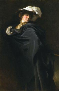 John Singer Sargent (American, 1856-1925) : Portrait of Ena Wertheimer. Tate, London