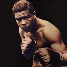 Joseph Louis Barrow aka Joe Louis...ther is no room to list the countless selfless things this man has done for all people...not just in the sport of boxing....way more than a legend his greatness trancends and inspires us all.