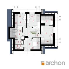 Dom w miłowonkach Floor Plans, House, Log Homes, Home Layouts, Country Houses, Home, Haus, Houses, Homes