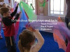 15 Fabulous Fingerplays and Facts by Teach Preschool, Pre-K Pages, and Prekinders!