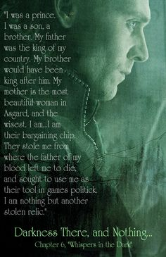 Teaser-promo pic with Loki quote for chapter 6! Lovely pic, too.