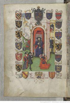 « Le Champion des Dames, » par « MARTIN LE FRANC, prevost de l'église de Lausane. » (1440).