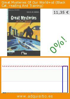 Great Mysteries Of Our World+cd (Black Cat. reading And Training) (Tapa blanda). Baja 99%! Precio actual 11,35 €, el precio anterior fue de 1.135,25 €. https://www.adquisitio.es/ediciones-vicens-vives-sa/great-mysteries-of-our