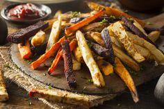 A legfinomabb zöldségköretek - Recept Recipe D, Fries Recipe, Hummus Recipe, Big Meals, Easy Meals, Veggie Recipes, Gluten Free Recipes, Duck Fat Fries, Veggie Fries