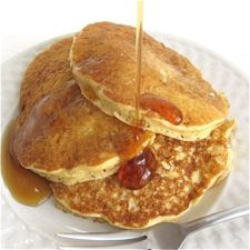 Homemade Whole Grain Pancake Mix – absolutely delicious pancakes featuring the sweet-nutty taste of oats and wheat.