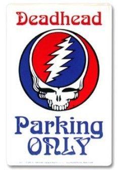 Grateful Dead - Deadhead SYF Parking Sign-Grateful Dead - Deadhead Steal Your Face Parking SignOnly deadheads can park here.Steal Your Face (SYF) Gr Grateful Dead Shakedown Street, Rap, Parking Signs, Forever Grateful, Window Stickers, Concert Posters, The Beatles, Beatles Songs, Rock N Roll