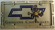 "1 , Quartz Clock, on, "" GENUINE CHEVROLET "", Metal Sign, on, Metal, Slotted Rim, Frame,,33B4.3&6A2.8,,,SHIPPED USPS,,,, ASTRODEALS,http://www.amazon.com/dp/B00FCEK0CC/ref=cm_sw_r_pi_dp_TvP-sb0T5353S1D5"