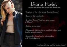 She is exactly who i picture when i read Farley! #RedQueen #ScarletteGuard