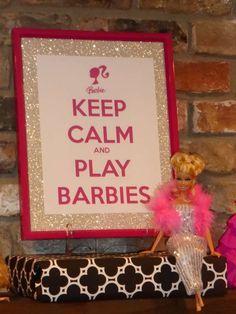 Monica K's Birthday / Barbie - Photo Gallery at Catch My Party Barbie Party Decorations, Barbie Theme Party, Barbie Birthday Party, Doll Party, 6th Birthday Parties, Birthday Bash, Girl Birthday, Birthday Ideas, Happy Birthday