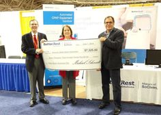 Better Rest Solutions Donates $7,325 to American Sleep Apnea Association in Support of Sleep Apnea Awareness Day Sleep Talking, Sleep Apnea, Rest, Wellness, Learning, American, Day, Study, Teaching