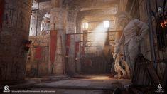 ArtStation - Assassin's Creed Origins - Krokodilopolis Arena , Daniel S.