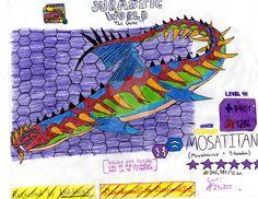 Jurassic World: The Game - Mosatitan (Request) by DinoBrian47 on DeviantArt