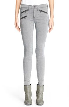 rag & bone/JEAN 'RBW 23' Skinny Jeans (Pinstripe) available at #Nordstrom