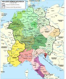 Heiliges Römisches Reich um 1000