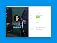 Skype for MacUser interface restructured and refreshed.I would like to dedicate this work to my awesome team.Thank you guys to inspire me.