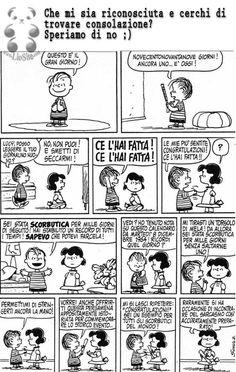 Che dire? Alle volte mi prende il panico #linus, #charlesschultz, #comics, #striscia, #fumetti, #italiano,