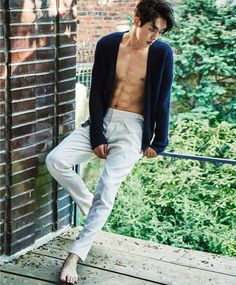"""Nam Joo Hyuk, everyone's favorite, cutie-pie boyfriend from """"Cheese In The Trap"""" shows off a more serious, masculine side in this pictorial. He's going to be busy playing on…"""