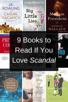 Can't get enough 'Scandal'? Read these books next!