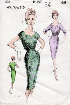 1950s Draped Sweethe