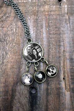 Family Tree Necklace - sweet custom jewelry idea for a genealogy enthusiast!