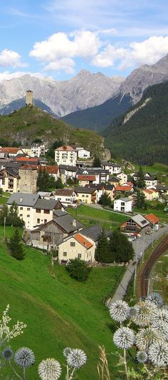 There's cute and then there's Switzerland. Ardez, Engadine Valley.