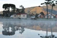 Frio ao amanhecer de Lages, na Serra Catarinense, ao amanhecer desta quinta-feira, 28 de agosto de 2014. A temperatura na cidade chegou a -1ºC, mas a mínima no Estado foi de -6,8ºC, em Urupema:imagem 23