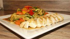 SONY DSC Wok, Pasta Salad, Squash, Chicken, Meat, Ethnic Recipes, Crab Pasta Salad, Pumpkins, Gourd