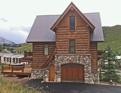 Mt. Crested Butte Vacation Rental - VRBO 568837 - 3 BR Crested Butte Area House in CO, Handmade Home in the Wildflower Capital of Colorado--3/2  $500 nite rent
