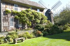 Mulford Farm in the Hamptons. I love the windmill on the property.