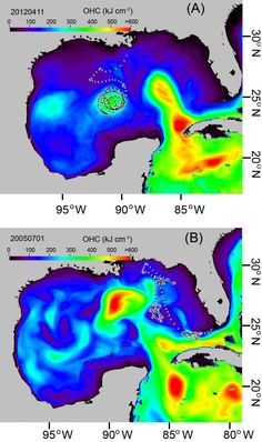Researchers at the University of Miami Rosenstiel School of Marine and Atmospheric Science developed a new method to estimate #fish movements using #ocean #heat content images, a dataset commonly used in hurricane intensity forecasting. With Atlantic tarpon as the messenger, this is the first study to quantitatively show that large migratory fishes, such as yellowfin and bluefin tunas, blue and white marlin, and sailfish have affinities for ocean fronts and eddies.