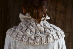 Cozy Cable Cowl | Purl Soho - Create..maybe my sister Diane will create this for me ;)