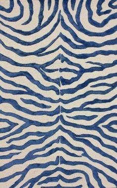 fun zebra colorway, @Rugs USA