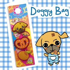Jibbitz Charms Doggy Bag di TheRoadOfSunflowers su Etsy