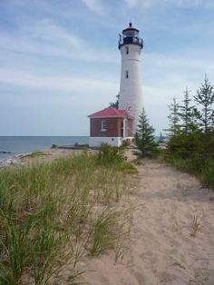 Crisp Point Lighthouse, Newberry. Michigan