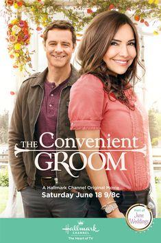 """Hallmark Channel Wedding Movie """"The Convenient Groom"""" starring Vanessa Marcil and David Sutcliffe June 18, 2016"""