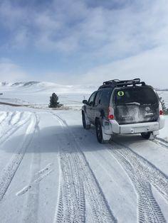 Nissan Xterra exploring Montana