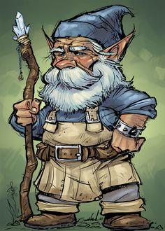 """""""Garden Gnome"""" by Nate Baertsch"""
