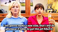 """Parks and Recreation • leslie-knope-wyatt:   """"That promise launched a..."""