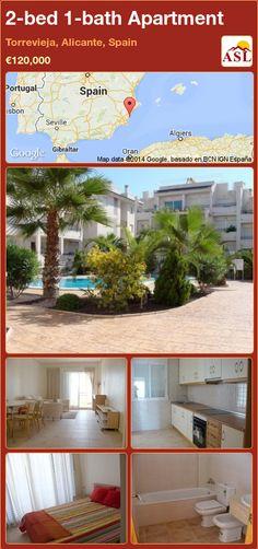2-bed 1-bath Apartment in Torrevieja, Alicante, Spain ►€120,000 #PropertyForSaleInSpain