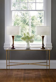 Console table from #Schumacher