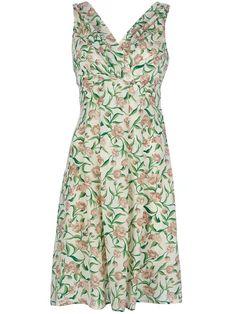 Attic And Barn - Attic And Barn 'Laurinda' Flower Print Dress - Dolci Trame #office #afterwork #aw #drink #24h #24houtfit #ootd #outfit #atticandbarn #dress #rickowens #blazer #dianevonfurstenberg #dvf #shoes #heels #sandals #bag #tote #svevacollection #necklace #stellajean #bracelet