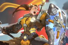"""Brigitte Lindholm is the latest playable character announced for developer Blizzard's team-based online shooter game """"Overwatch."""""""