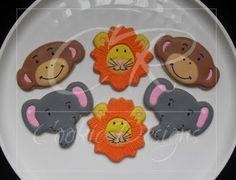 Icing Smiles Recipient: Karalyn  Theme: Safari 1st Birthday Party