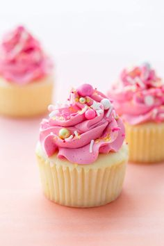 Ultimate Fluffy White Cupcakes with Marshmallow Buttercream