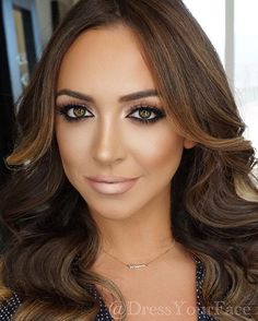 Yesterday's glam with the gorgeous @farrahbritt � hair and makeup by @dressyourface #dressyourface • Makeup details👇🏽 FACE � @elciecosmetics foundation, @maccosmetics studio fix powders, @anastasiabeverlyhills contour book & sun dipped glow kit  EYES � @natashadenona shadow palette no.5, @tartecosmetics gel liner, @benefitcosmetics precisely my brow pencil no.4, @hudabeauty #hudabeauty samantha lashes  LIPS � @anastasiabeverlyhills stripped liquid lipstick, @natashadenona light gold from…