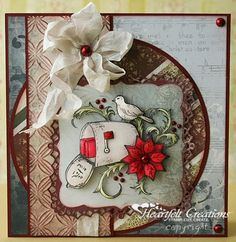Heartfelt Creations | Holiday Mail