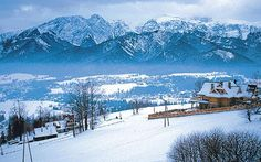 Skiing in the Polish resort of Zakopane is a good option for beginners and intermediates looking for something a bit different.