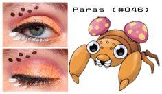 Pokemakeup 046 Paras by ~nazzara on deviant art