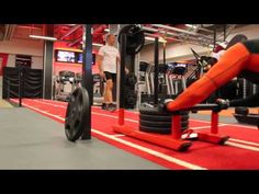HIIT Power Sled 25kg-124kg Pyramid Workout | Fitness Model Workouts - YouTube